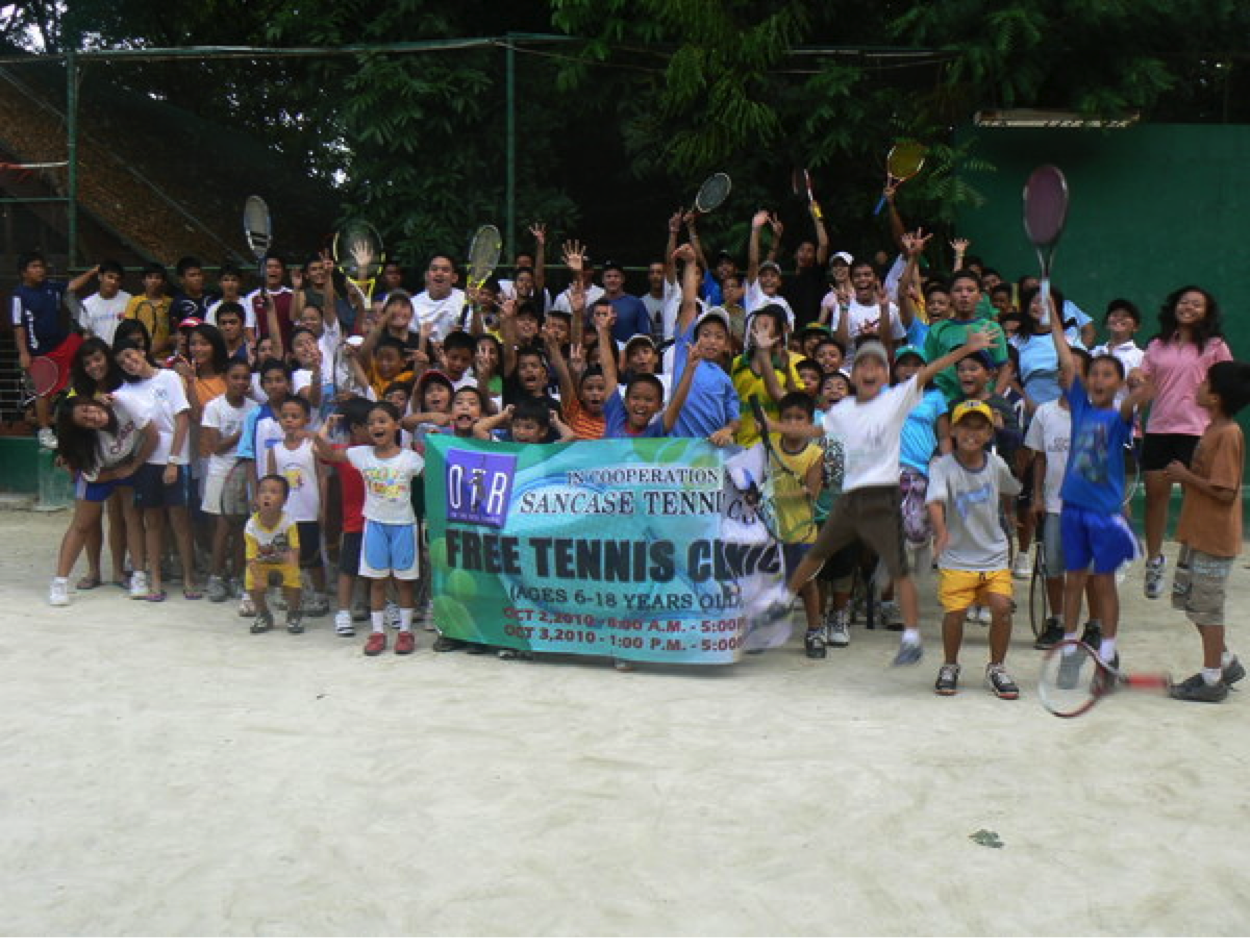 OTR Cebu Tennis Clinic Oct 2 & 3