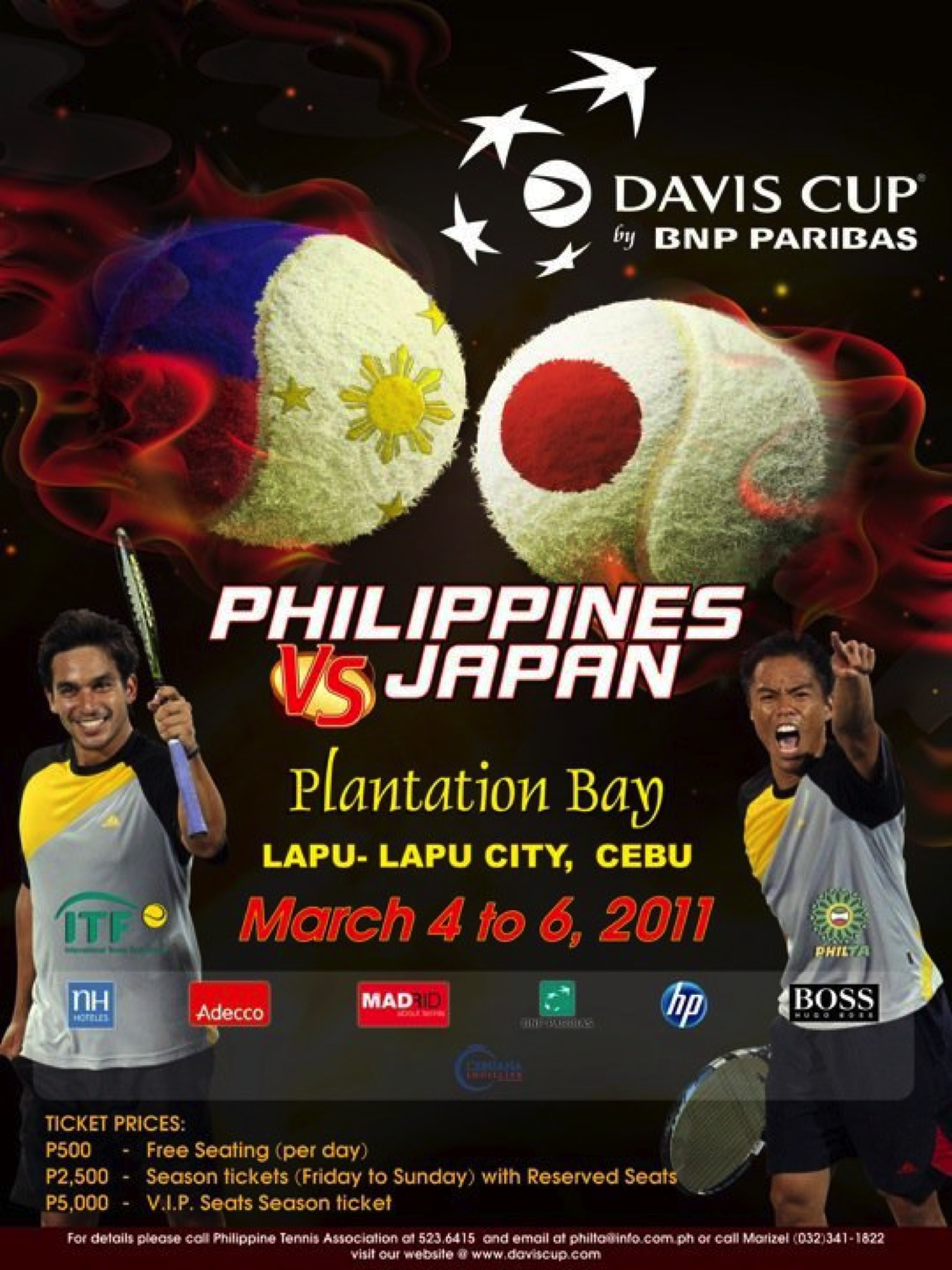Ladies Cebu Davis Cup Trip