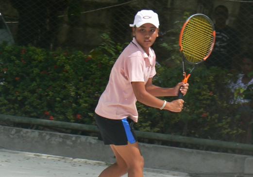 Hanna Grace Espinosa - 17 years old, CITCI Member, Junior Tennis Trainee