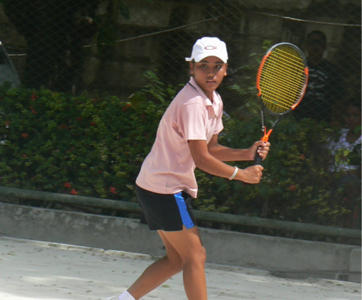 Hanna Grace Espinosa – 17 years old, CITCI Member, Junior Tennis Trainee