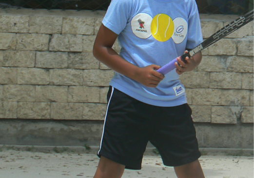 The most talented CITCI Member - Junior Tennis Trainee...