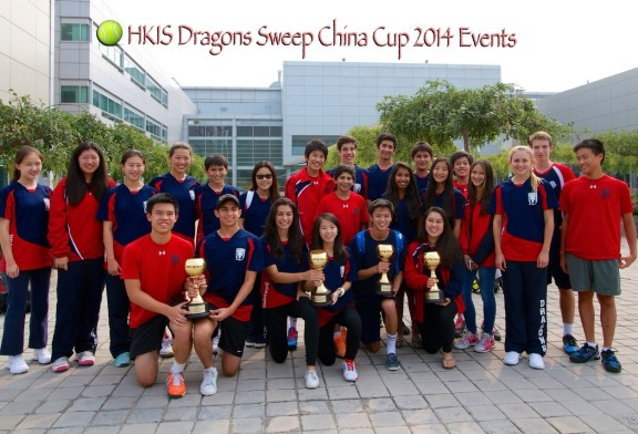 Clean Sweep in China Cup 2014