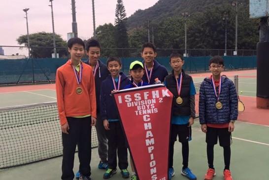 CIS Boys Team win ISSFHK Div 2