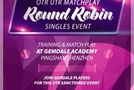 OTR UTR Gemdale Matchplay 2019